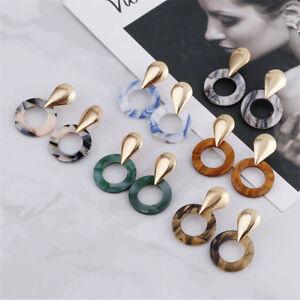 Geometric-Boho-Statement-Bib-Drop-Dangle-Ear-Stud-Earrings-Women-Charm-Jewelry