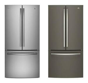 2 choix de Réfrigérateurs 33'', Stainless/Ardoise, Portes françaises, GE Profile Sherbrooke Québec Preview