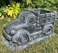 Scania Lorry Stone Garden Ornament Planter
