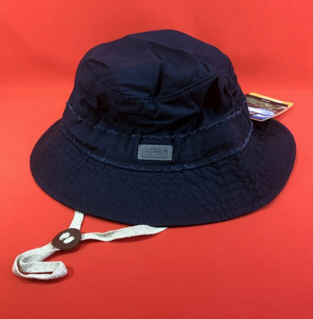 470974b3c93519 NEW Outdoor Research Unisex Gin Joint Sun Bucket Hat - Color: Indigo, Size: