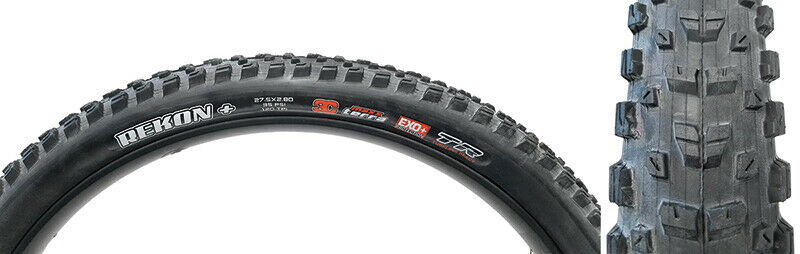 MAXXIS Tires Max  Rekon+ 27.5X2.8 Bk Fold 120 3Ct Exo+ Tr  your satisfaction is our target
