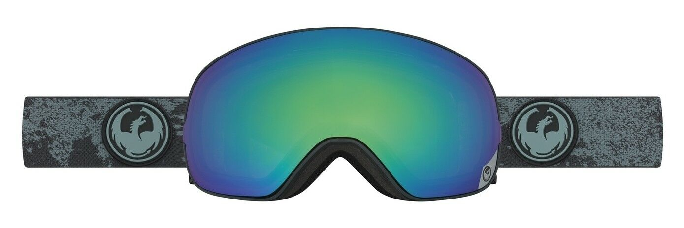 NEW Dragon X2s Mason Grey Green Polarized Mens Ski Snowboard Goggles Msrp