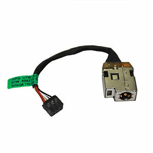 GinTai DC Power Jack with Cable Connector Charging Port Replacement for HP 810327-006