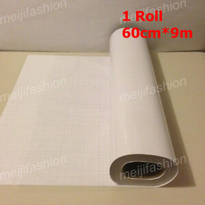1-Roll-VINYL-Sticker-Clear-Transfer-Film-Paper-Cutter-Cutting-Plotter-60cm-9m
