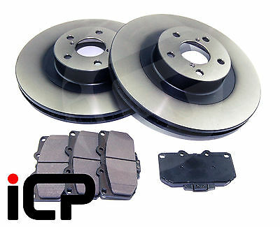 PERFORMANCE FRONT BRAKE DISCS COMPATIBLE WITH IMPREZA 295mm 4 POT CALIPERS