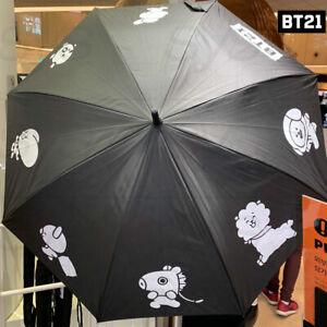 BTS-BT21-Official-Authentic-Goods-Automatic-Long-Umbrella-875mm-Express-Ship