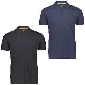 CMP Poloshirt Herren Freizeitshirt Golfshirt Polohemd Freizeithemd kurzarm