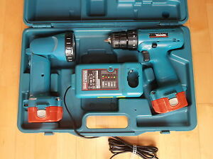 makita 6227d akku 12v akkuschrauber akku bohrmaschine ladeger t dc1414 t ebay. Black Bedroom Furniture Sets. Home Design Ideas