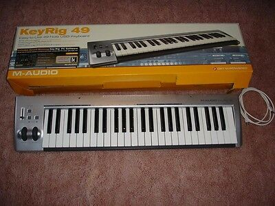 MUSIC KEYBOARD - M-Audio KeyRig 49 keyboard controller - NEW IN-BOX