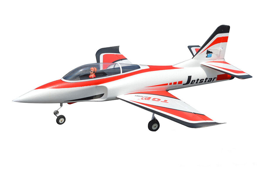 Very Cool  Top RC 1M RC Jet Star Red KIT Airplane EDF Model attractive