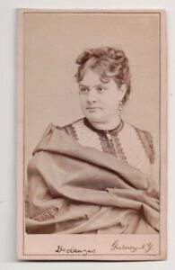 Vintage-CDV-Marie-Desclauzas-French-Actress-Gurney-Photo