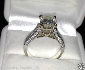 1-99CT-CUSHION-CUT-BEAUTIFUL-ENGAGEMENT-RING-SOLID-STERLING-SILVER-925