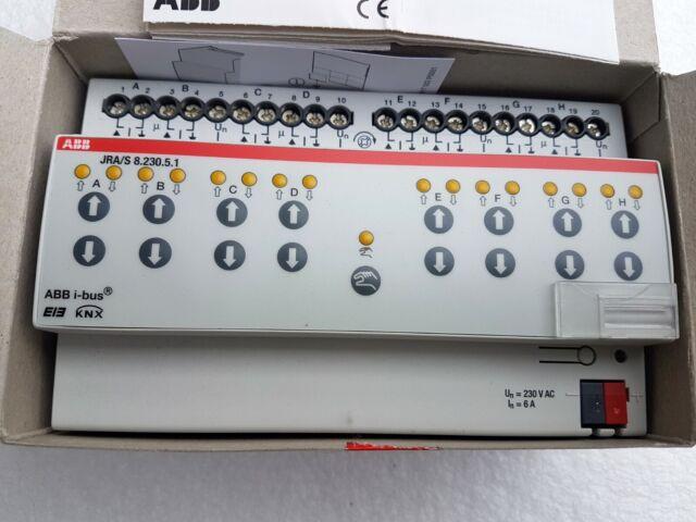 ABB EIB KNX JRA/S 8.230.5.1 Jalousieaktor 8fach Fahrzeitermittlung  neu #2