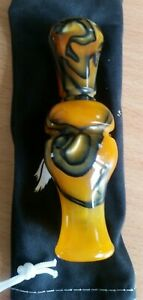 Duck-Call-Buck-Gardner-Full-Acrylic-Double-Reed-Duck-Call-Tiger-Swirl