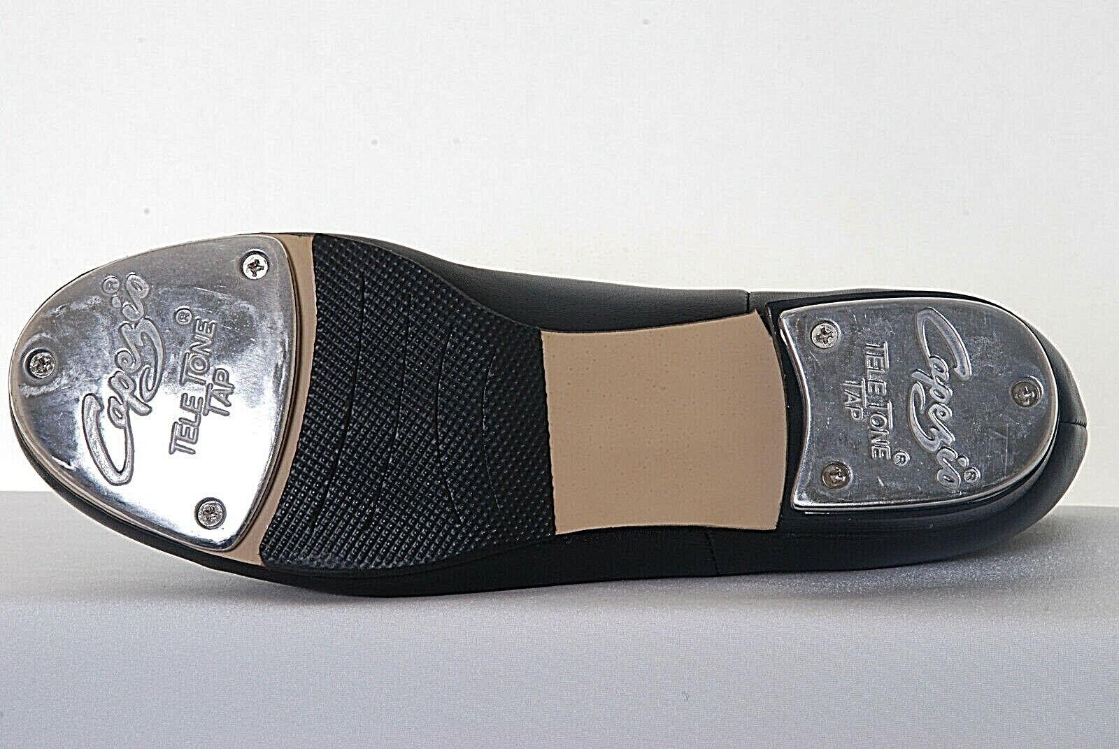 Capezio Cg55 Cg55 Cg55 Xtreme Leder Niedriger Absatz Oxford Tap Schuhe- Teletone c6bfa3