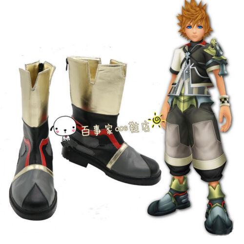 New Anime Kingdom Hearts Sora 2 Ventus Cosplay Shoes  NN.92