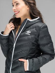 adidas Originals Womens Slim Jacket | Black | Footasylum