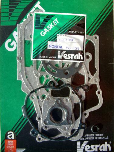VESRAH COMPLETE FULL Gasket set kit Honda CR80R CR80 CR80RG//RH 1986-87 VG-1064