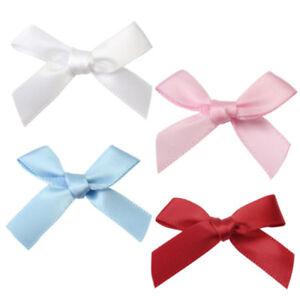 100-Pcs-Mini-Satin-Ribbon-Flowers-Bows-Gift-Craft-Wedding-Decoration-pick-DIY-sr
