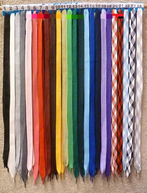 "USA Seller 1 PAIR ROUND  SHOELACES  SHOE LACES 45/"" Ship fast W// Tracking #"