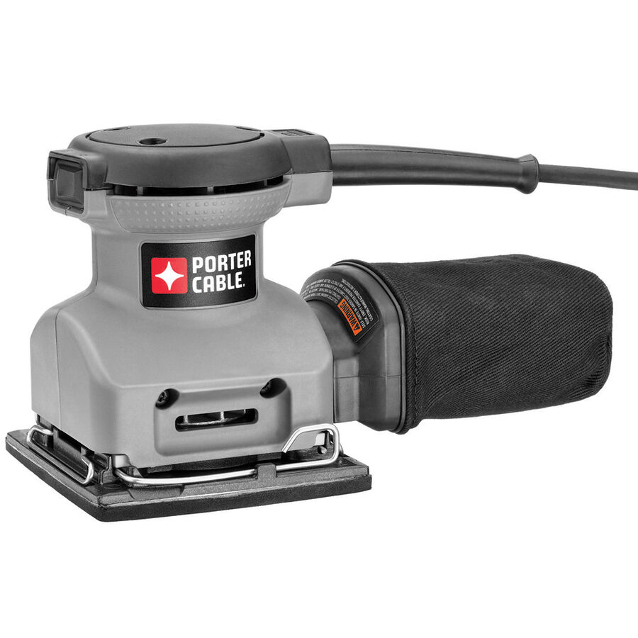 PORTER-CABLE 380 1 4  2 Amp Portable Palm Electric Orbit Orbital Sanding Sander