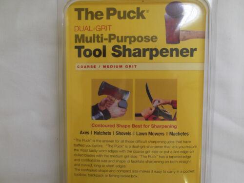 LANSKY Puck Dual Grit Multipurpose Tool Blade Sharpener LPUCK