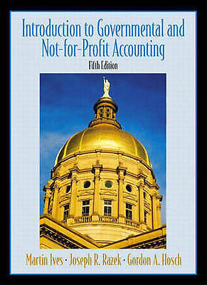 Introduction to Government and Non-for-Profit Accounting-ExLibrary