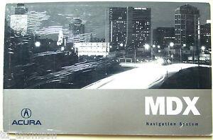 ACURA-2005-MDX-Navigation-Manual-31S3V840