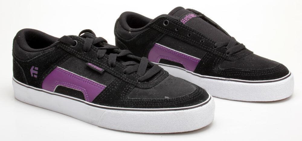 Billig hohe Qualität Etnies Schuhe RVS Black/Purple