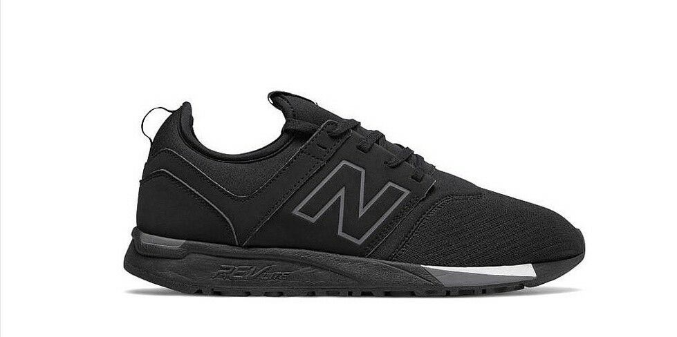 NEW BALANCE MRL247BR BLACK SNEAKERS