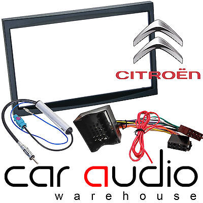 CT24FD43 FORD MONDEO 2004-2007 BLACK DOUBLE DIN FASCIA FRAME ADAPTER ONLY XTRON
