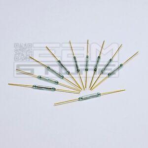 10-pz-Rele-reed-ad-ampolla-contatto-magnetico-effetto-hall-arduino-ART-CE21