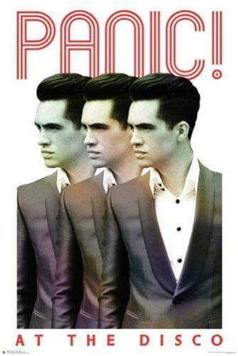 MUSIC BAND 3300 PANIC AT THE DISCO POSTER 24x36