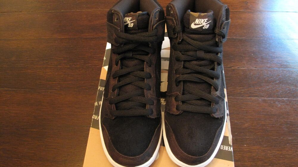 Mens Nike Dunk High Pro SB Taille 8.5, Iguana-noir