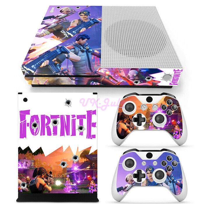 Xbox One S Fortnite Skins Stickers Rare Designs Console Controllers Vinyl Covers