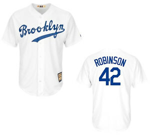 Image is loading Brooklyn-Dodgers-Jackie-Robinson-42-Cooperstown-Men-039- bd680b67d7a