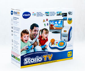 VTech-80-183604-Lernspielkonsole-Storio-TV-Lerncomputer-NEU-OVP