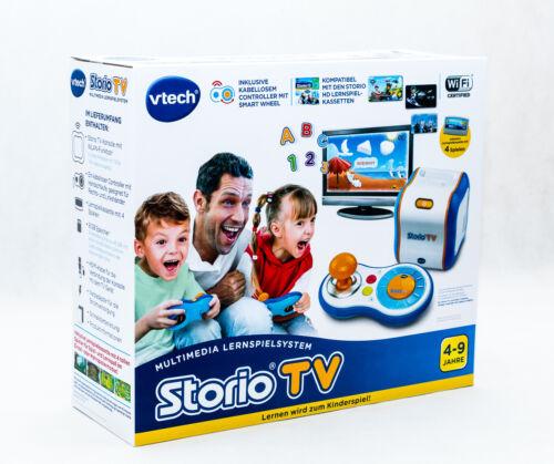 Console de jeux éducatifs-Storio TV informatique Nouveau//Neuf dans sa boîte Vtech 80-183604