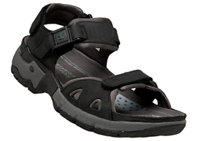 Allrounder by Mephisto Alligator Black Waxy Comfort Sandal Mens 40-48 NEW!!!