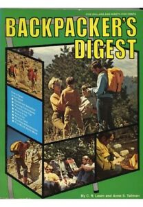 Backpacker-039-s-Digest-by-Anne-S-Tallman-and-C-R-Learn-1973-VINTAGE-COLLECTIBLE