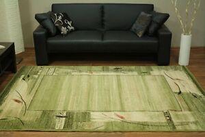 Teppich-Standard-Erba-chrom-gruen-Wohnzimmer-kurzflor-Design-170x240-200x300-ua