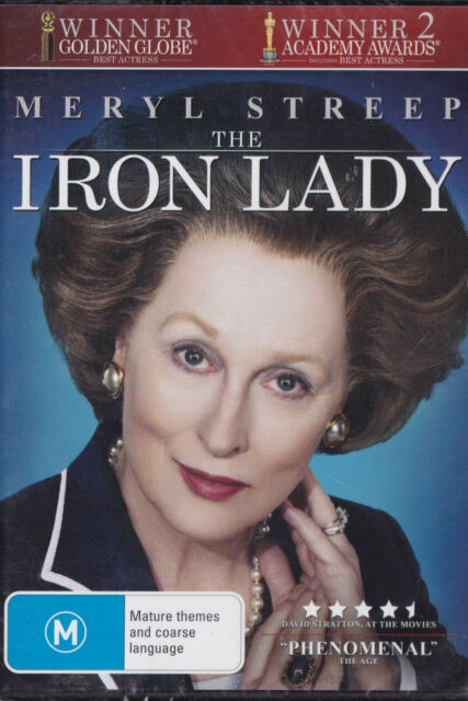 THE IRON LADY Meryl Streep  DVD R4 - PAL New / Sealed   SirH70