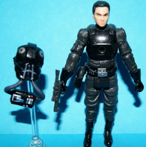 Star Wars Legacy Imperial TIE Fighter Pilot Evolutions WALMART EXCLUSIVE loose