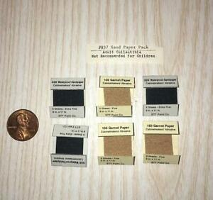 544 MINIATURE DOLLHOUSE 1:12 SCALE LARGE BAG OF SAND BY SIR THOMAS THUMB