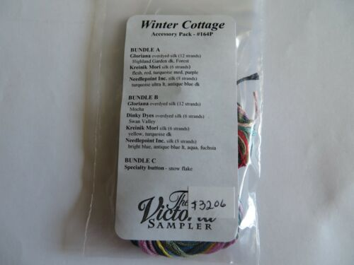 10/% Off Victoria Sampler Accessory Pack #164P for Winter Cottage