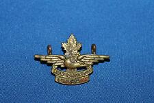 """Post WW2 Canadian """"Air Cadets Canada"""" Metal Cap Insignia Badge"""