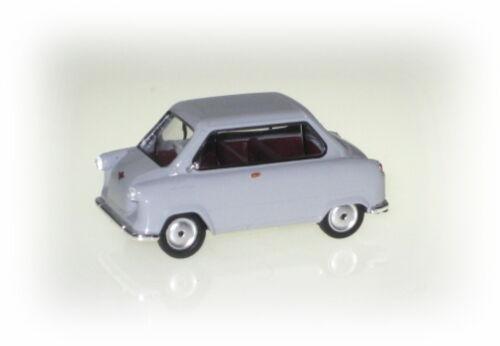 Zündapp Janus ratón gris Spur h0 1:87 Herpa 027588 maqueta de coche auto modelo