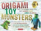 Origami Toy Monsters Kit: Easy-To-Assemble Paper Toys That Shudder, Shake, Lurch and Amaze! (Tuttle Origami Kits) by Andrew Dewar (Hardback, 2015)