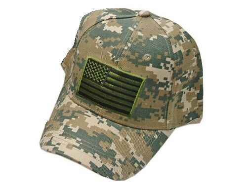 Buy Camo Military Tactical American Flag Baseball Cap Hat - One Size Fits  All online  b42f4f5b11a