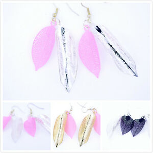 Magnifique-decoupe-leaf-dangle-earrings-multiple-couleurs